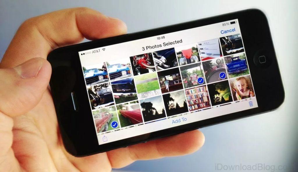 фотографии и альбом iphone