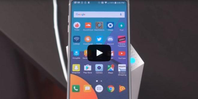 видео обзор lg g6