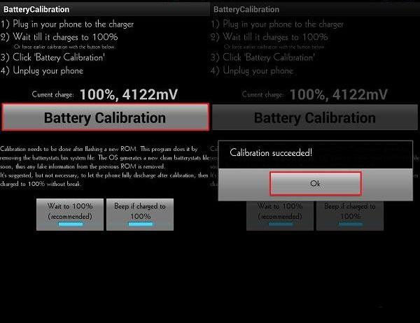 программа Battery Calibration андроид