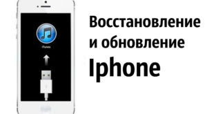 Восстановление и обновление Iphone