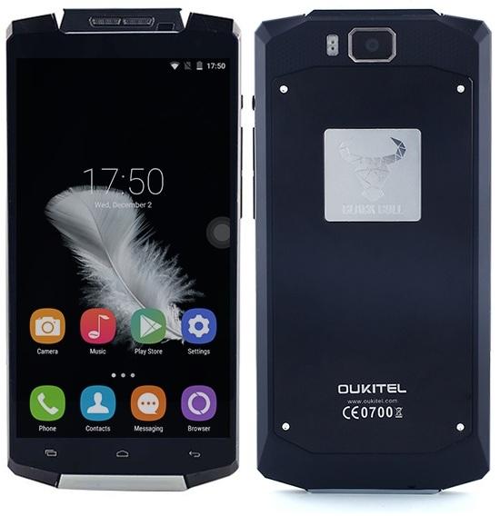 телефон с самой мощной батареей OUKITEL K10000