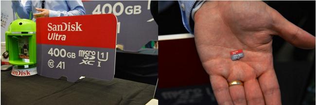 карта памяти microSD на 400 ГБ