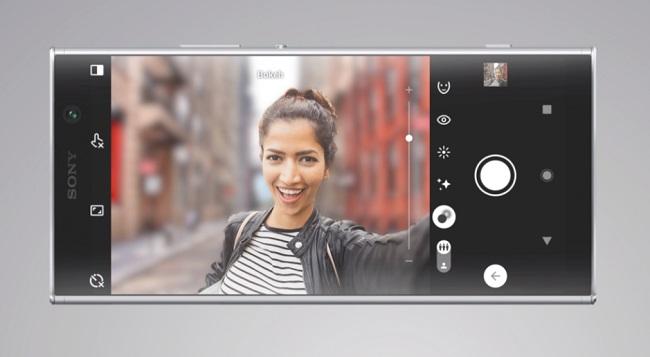 камера Xperia XA2 Plus