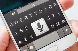 запись текста голосом android