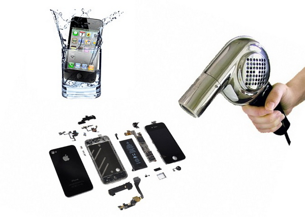 если телефон упал в воду что делать хуавей качественном