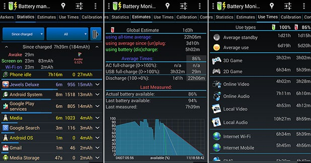 Widget: Battery Monitor