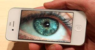глаз в телефоне