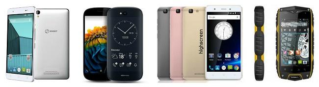 Русские смартфоны на Андроид
