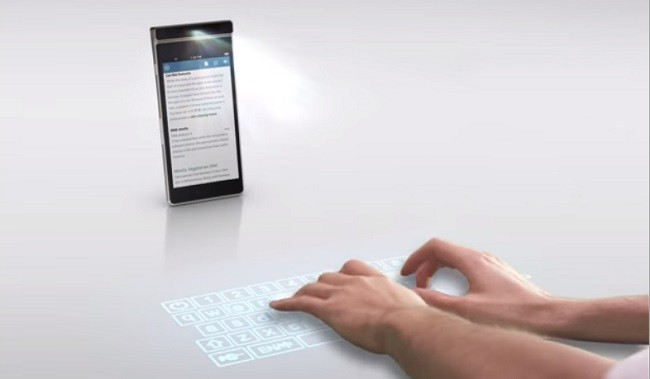 клавиатура сенсорная на столе