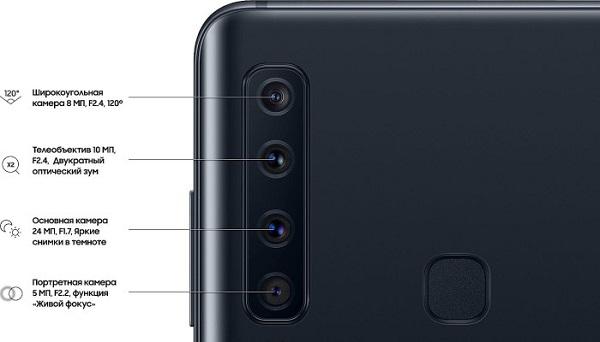 смартфон Samsung Galaxy A9 2018